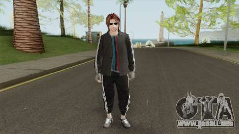 Random Skin 1 (With Glasses) para GTA San Andreas