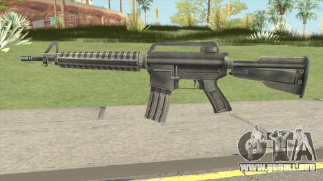 M4 Remastered para GTA San Andreas