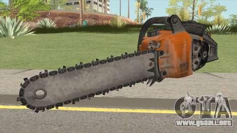 Chainsaw para GTA San Andreas