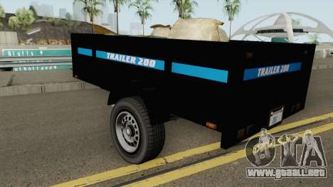 Utility Trailer GTA V para GTA San Andreas