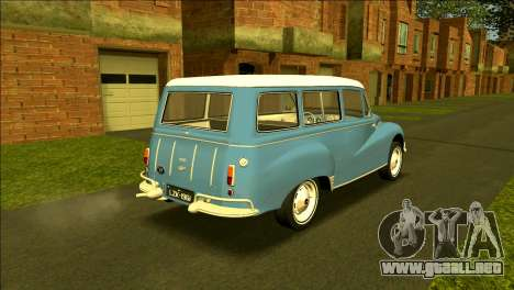 DKW-Vemag Universal 1000 1961 - Vemaguet para GTA San Andreas