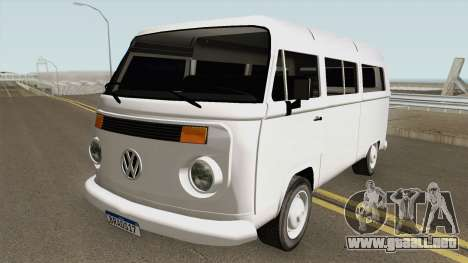 Volkswagen Kombi 2009 V2 By Vermilion093 3D para GTA San Andreas