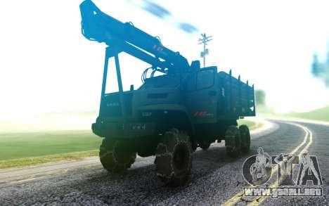 De Los Urales Junto A La Camioneta para GTA San Andreas