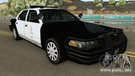 Ford Crown Victoria Police Interceptor para GTA San Andreas