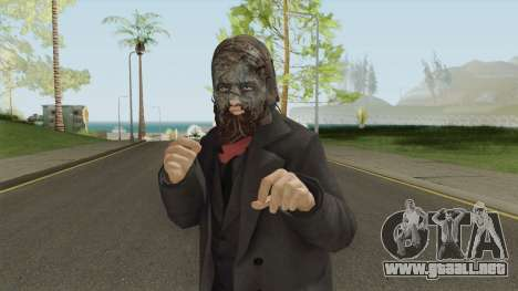 The Walking Dead Beta Skin Season 9 The Whispere para GTA San Andreas
