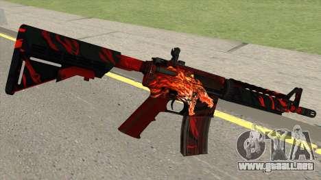 CSGO M4A4 Howl para GTA San Andreas
