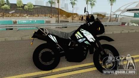 Kawasaki KLR 2014 para GTA San Andreas