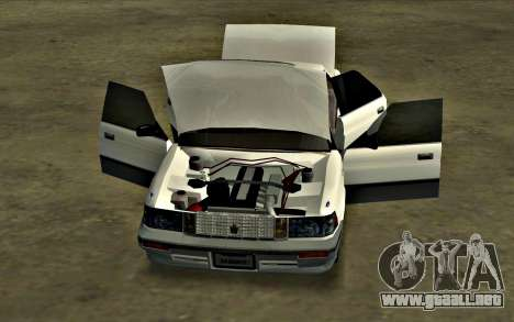 Toyota Crown Royal Saloon [HQ] para GTA San Andreas