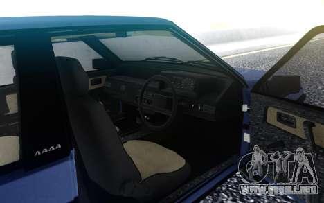 VAZ 2108 de Exportación del reino unido para GTA San Andreas
