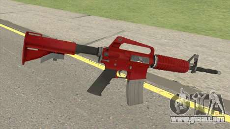 CS:GO M4A1 (Red Skin) para GTA San Andreas
