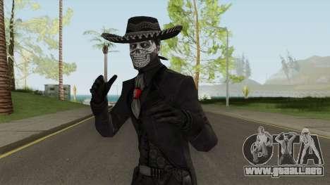 Erron Black (With Hat) From Mortal Kombat X para GTA San Andreas