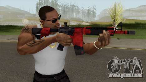 CS-GO M4A4 Evil Daimyo para GTA San Andreas
