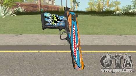 Desert Eagle (Monster Skin) para GTA San Andreas