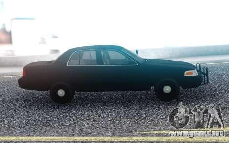 Ford Victoria FBI para GTA San Andreas