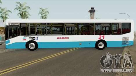 Todobus Pompeya II Agrale MT17 Linea 21 Interno para GTA San Andreas