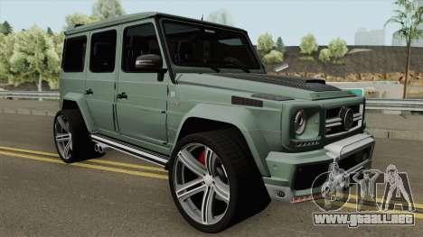 Mercedes-Benz G700 Brabus Widestar para GTA San Andreas