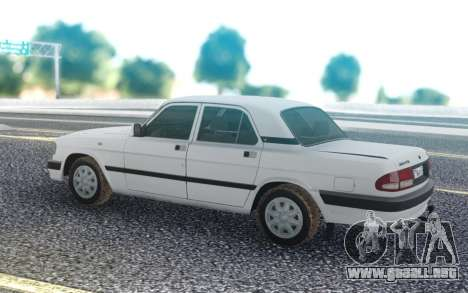 GAZ 3110 Volga Viejo modelo para GTA San Andreas