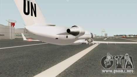 Bombardier CRJ-200 United Nations para GTA San Andreas