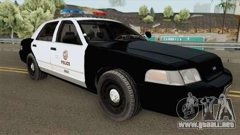 Ford Crown Victoria LAPD 2003 para GTA San Andreas