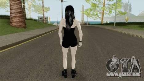 Metal Girl Skin para GTA San Andreas