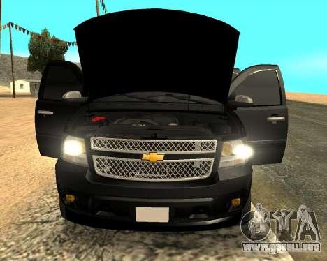 Chevrolet Tahoe para GTA San Andreas