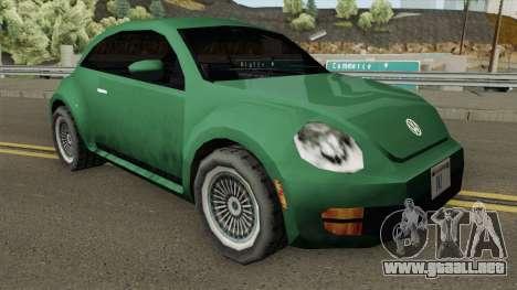 Volkswagen New Beetle 2012 (SA Style) para GTA San Andreas