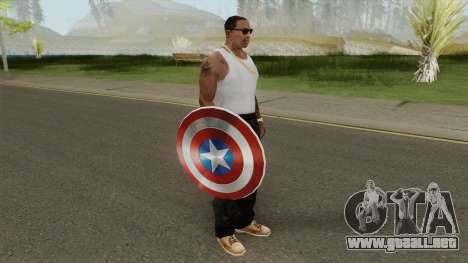Captain America Shield para GTA San Andreas