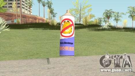 Pussy Destroyer Spray para GTA San Andreas