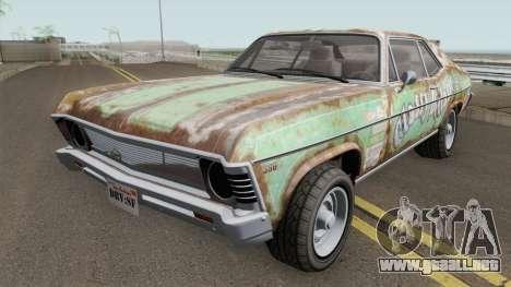 Declasse Vamos GTA V para GTA San Andreas