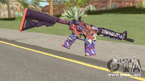 CS-GO M4A4 Dragon King para GTA San Andreas