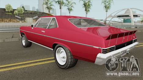 Declasse Vamos GTA V (Custom Bonnet) IVF para GTA San Andreas