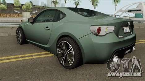 Toyota GT86 2013 para GTA San Andreas