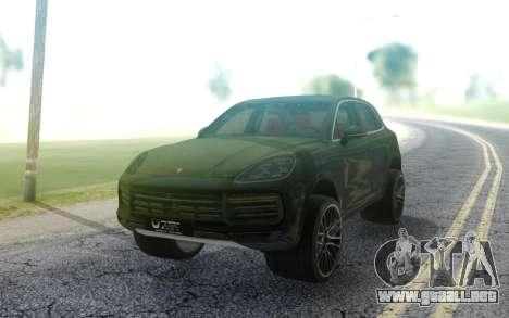 Porsche Cayenne 2019 para GTA San Andreas