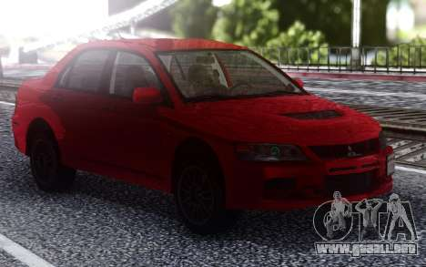 2006 Mitsubishi Lancer Evolution IX MR para GTA San Andreas