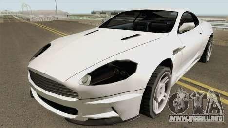 Aston Martin DB9 Low Poly para GTA San Andreas