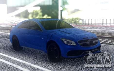 Mercedes-Benz CLS63 para GTA San Andreas