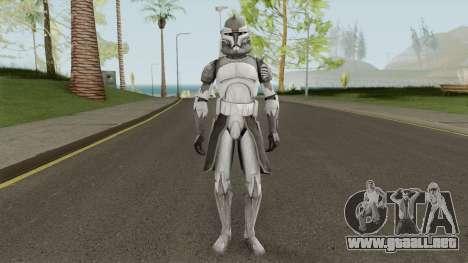 Star Wars Commander Wolffe para GTA San Andreas