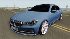 BMW 750Li HQ para GTA San Andreas
