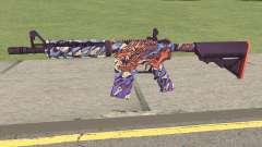 CS-GO M4A4 Dragon King para GTA San Andreas