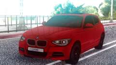 BMW M135i Red para GTA San Andreas