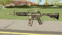 CS:GO M4A1 (Flashback Skin) para GTA San Andreas