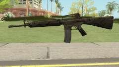 M16A2 Full Jungle Camo (Ext Mag) para GTA San Andreas