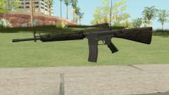 M16A2 Partial Jungle Camo (Ext Mag) para GTA San Andreas