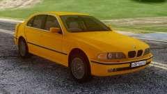 BMW E39 530d Yellow para GTA San Andreas