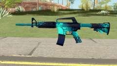 CS:GO M4A1 (Icarus Skin) para GTA San Andreas