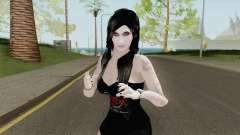 Metal Girl Skin V2 para GTA San Andreas