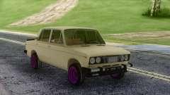 VAZ 2106 ruso a la Deriva para GTA San Andreas