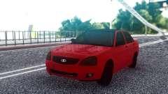 VAZ 2170 Sedán Rojo para GTA San Andreas