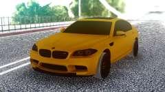 BMW M5 F10 Orange para GTA San Andreas