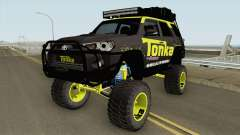 Toyota 4Runner Tonka Truck para GTA San Andreas